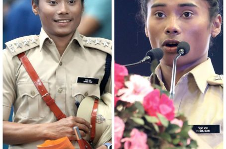 Star Sprinter Hima Das Appointed as Deputy Superintendent of Assam Police.