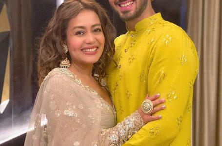 Neha Kakkar and Rohanpreet Singh looked adorable, as they wore ethnic outfit for one of their photoshoots.