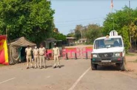 Odisha seals Border to restrict People Coming from WB with a 14 Day Compulsory Home Quarantine.